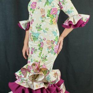 Traje flamenca señora