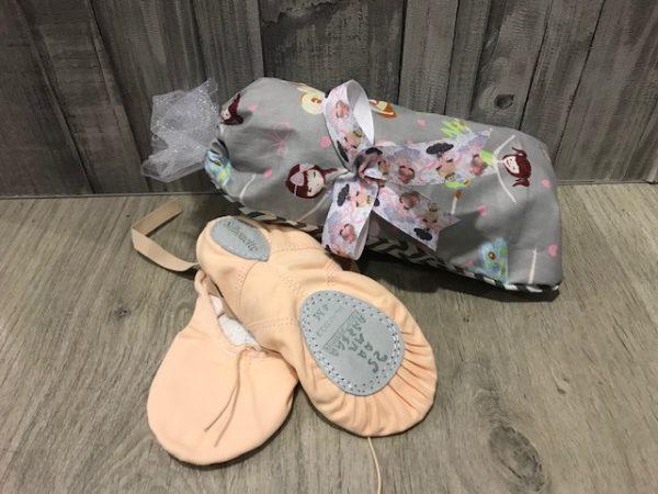 Fundas para zapatillas de ballet con estampados de bailarinas preciosas!!!