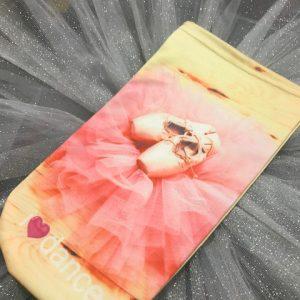 Bolsa zapatillas de ballet para guardar tus puntas