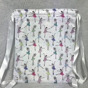 Bolsa ballet niñas de colores para colgar a la espalda