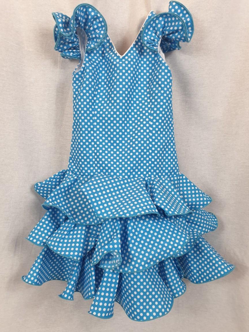 Traje de flamenca para niña 293