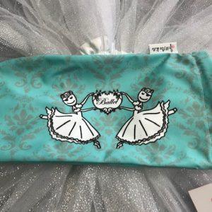 Bolsa para zapatillas de ballet con preciosas bailarinas