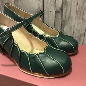 Zapatos para flamenco Begoña Cervera Acuarela