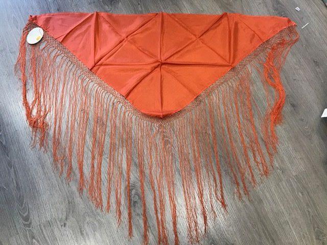Pico huertana señora naranja