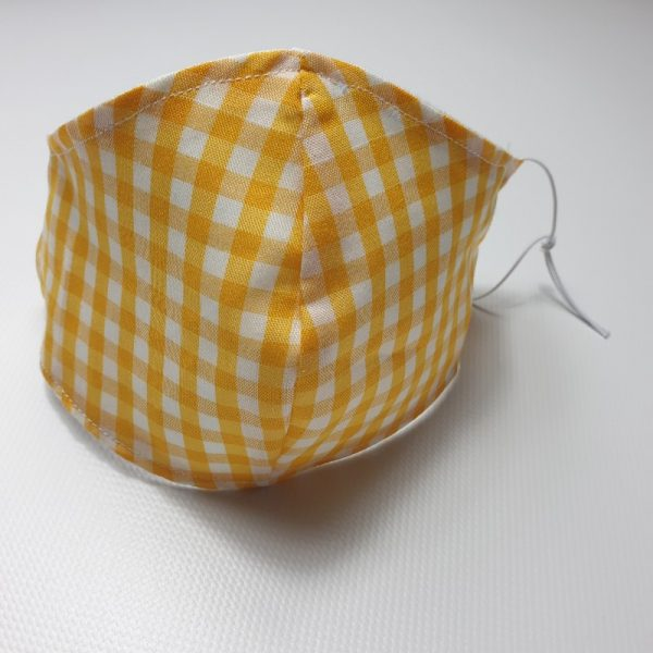 Mascarilla picnick lavable y reutilizable con abertura para colocar filtro desechable incluido