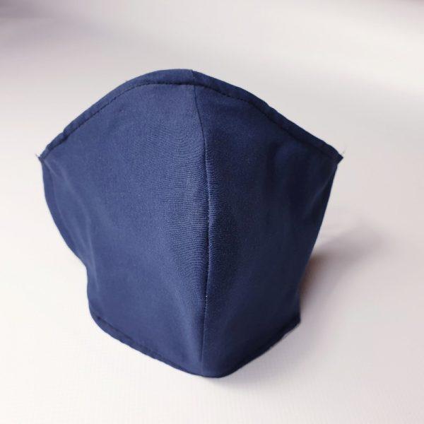 Mascarilla de tela marino lavable y reutilizable con filtro desechable incluido