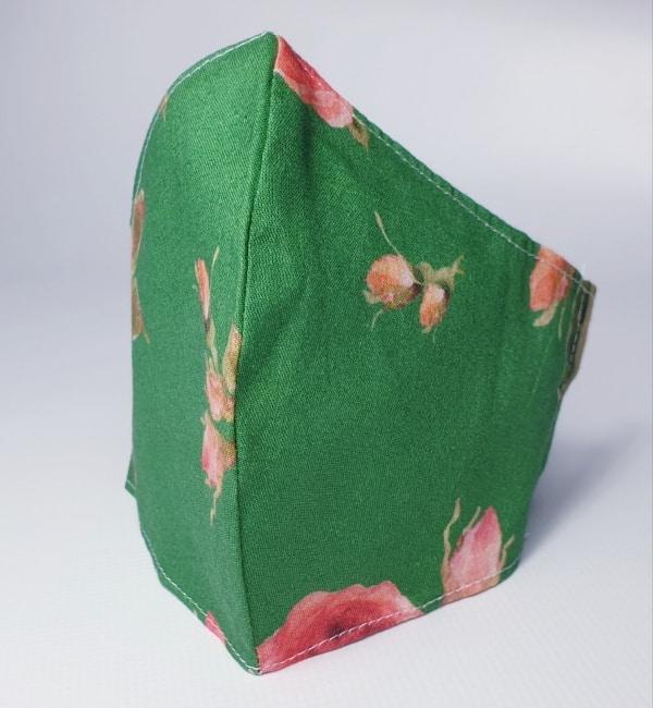 Mascarilla de tela flamenca lavabla y reutilizable