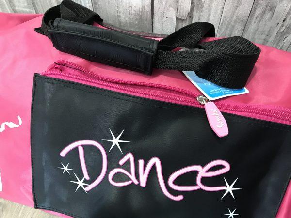 Bolsa ballet rosa con apartados para todo lo que necesitas