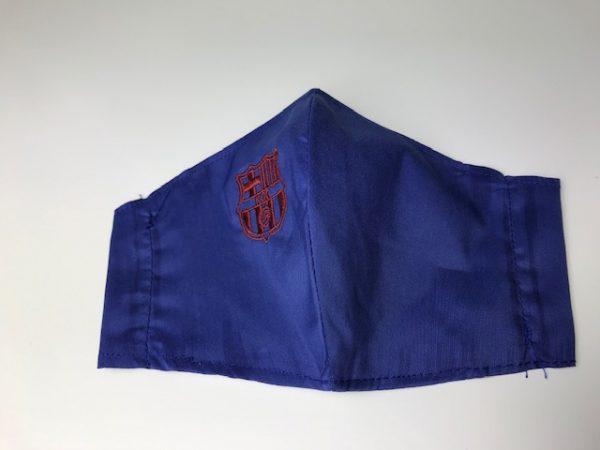 Mascarilla lavble club con doble tejido para colocar filtro incluido desechable