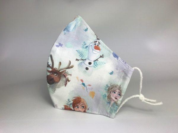 Mascarilla Frozen con doble tejido para colocar filtro incluido