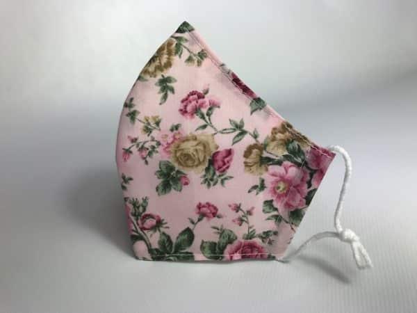 Mascarilla flor Patricia homologada 110 lavados sin filtros