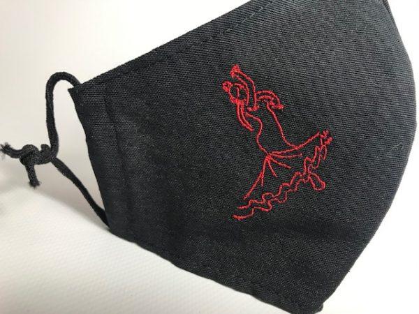 Mascarilla con flamenca hasta 110 lavados sin filtros