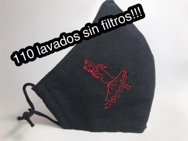 Mascarilla con flamenca homologada 875