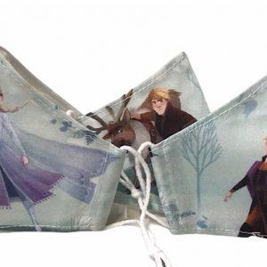Mascarilla Frozen con 110 lavados y tejidos homologados con certificado