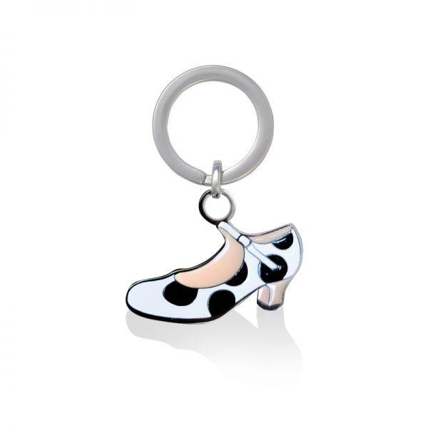 Llavero zapatos flamenca para tus llaves de casa o coche
