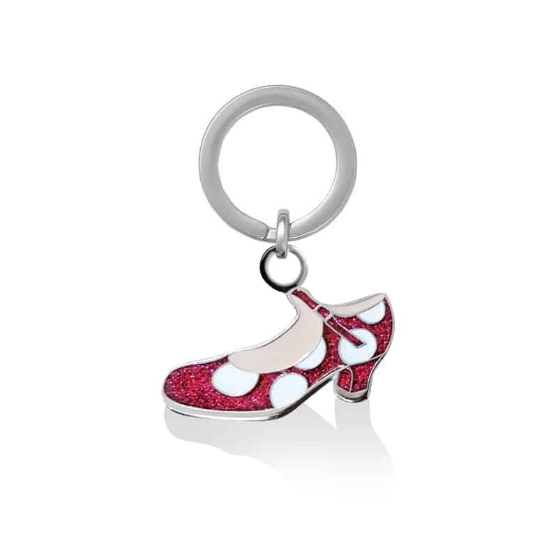 Llavero zapatos flamenca 901