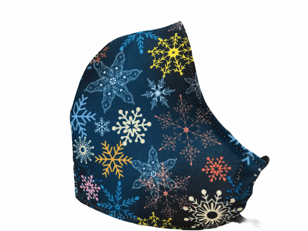 Mascarilla copos de nieve homologada 899