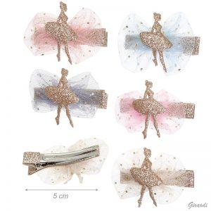 Horquillas bailarinas con tul