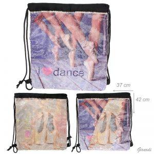 Bolsa Dance lentejuelas para niña o adulta