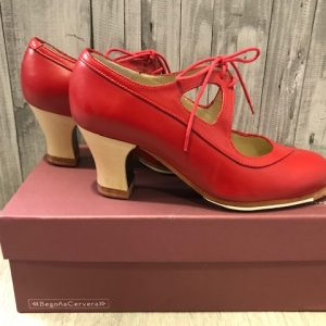 Zapatos Begoña Cervera Rojos