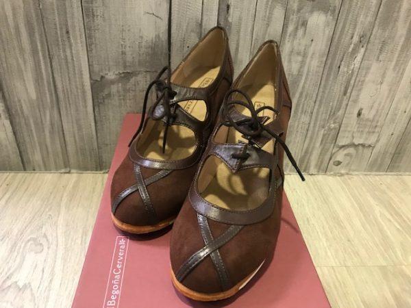 Zapatos flamenca Barroco de Begoña Cervera
