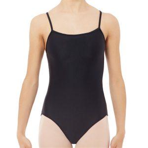 Maillot ballet adulto básico en color negro
