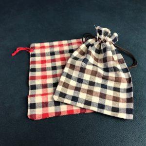 Bolsa de tela para mascarilla