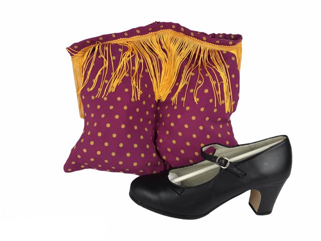 Bolsa para zapatos de flamenca 1096