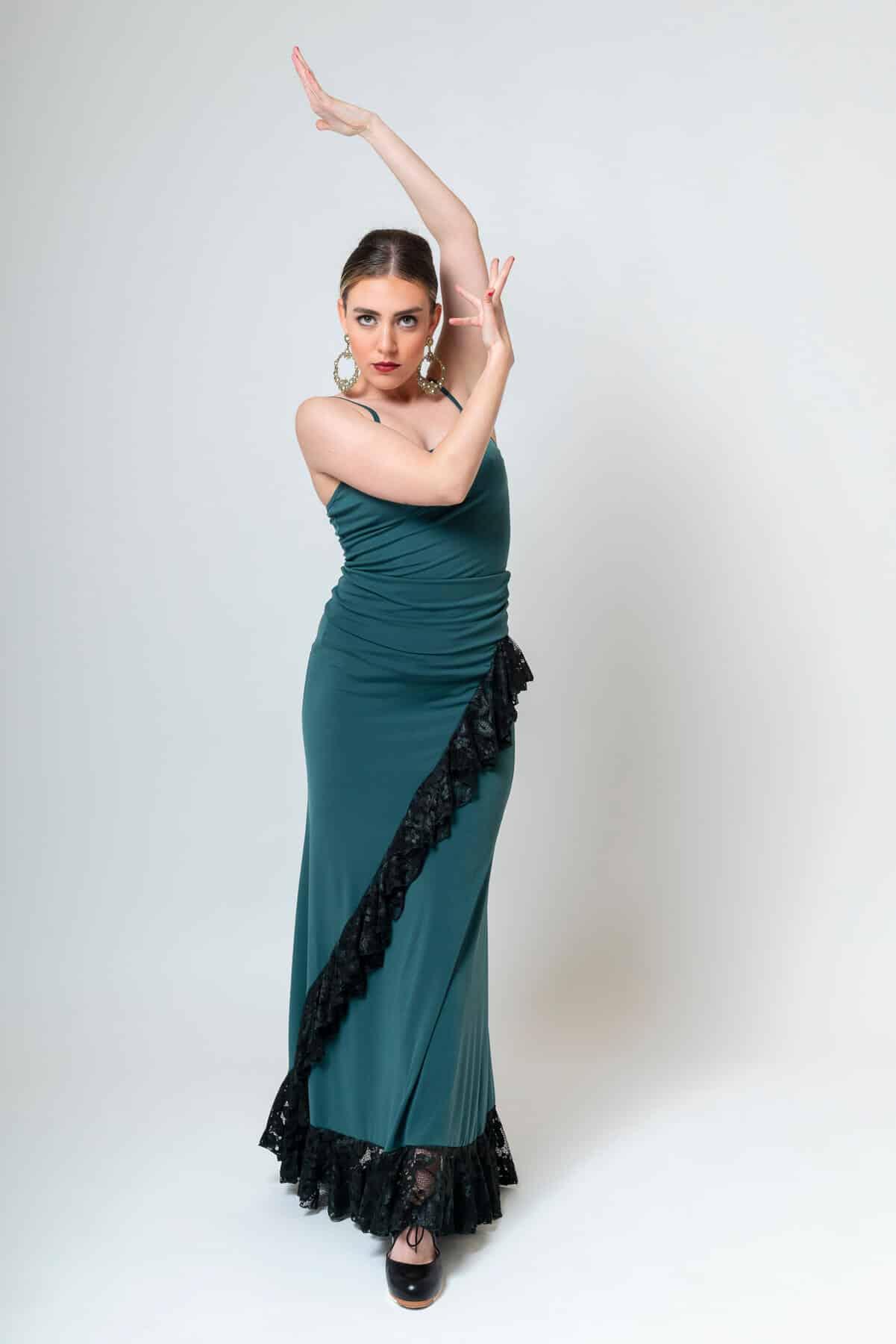 Falda flamenca Davedans 4301