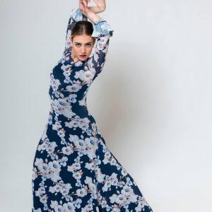 Vestido de flamenca floreado