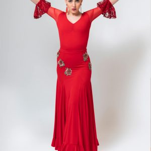 Maillot flamenco rojo