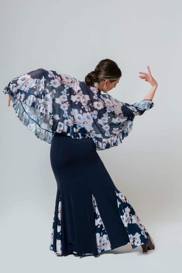 Blusón flamenco
