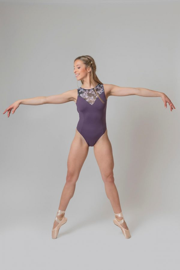 Maillots de ballet sin mangas 4317