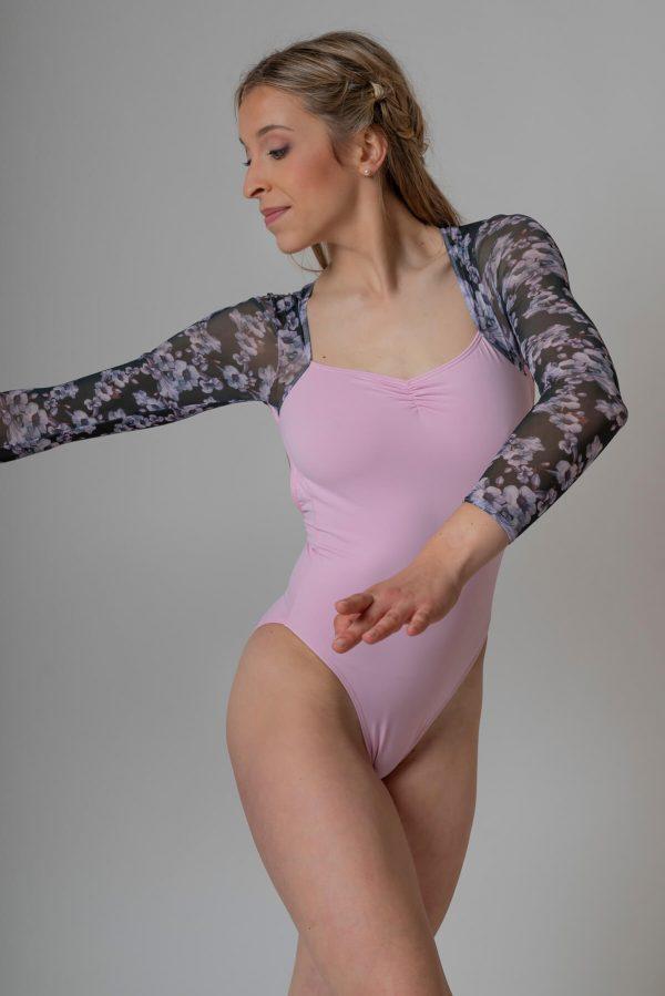 Maillot para ballet rosa