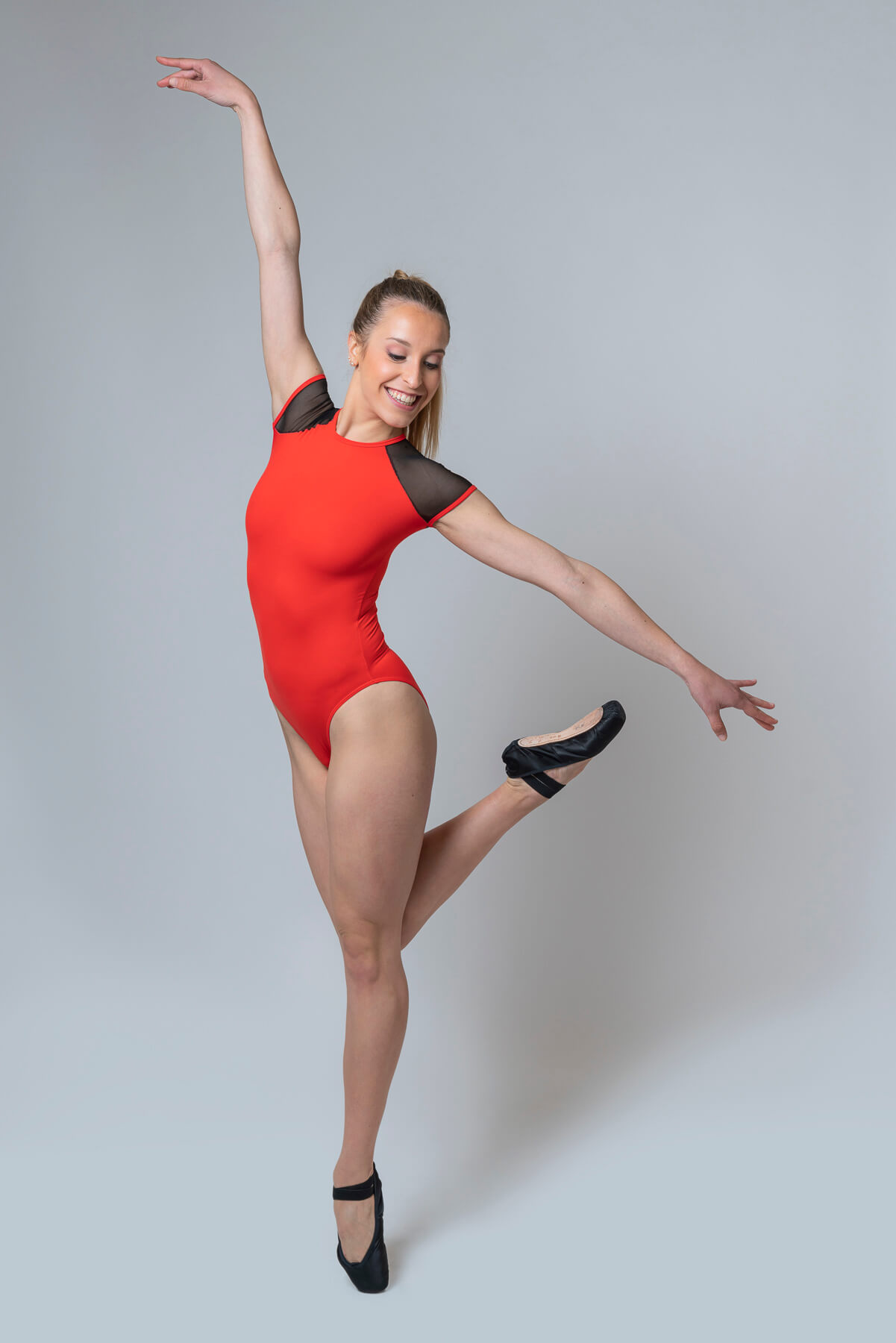 Maillot de ballet rojo 4326