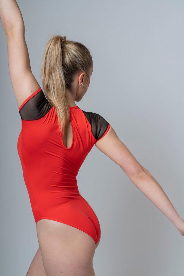 Maillot de ballet rojo