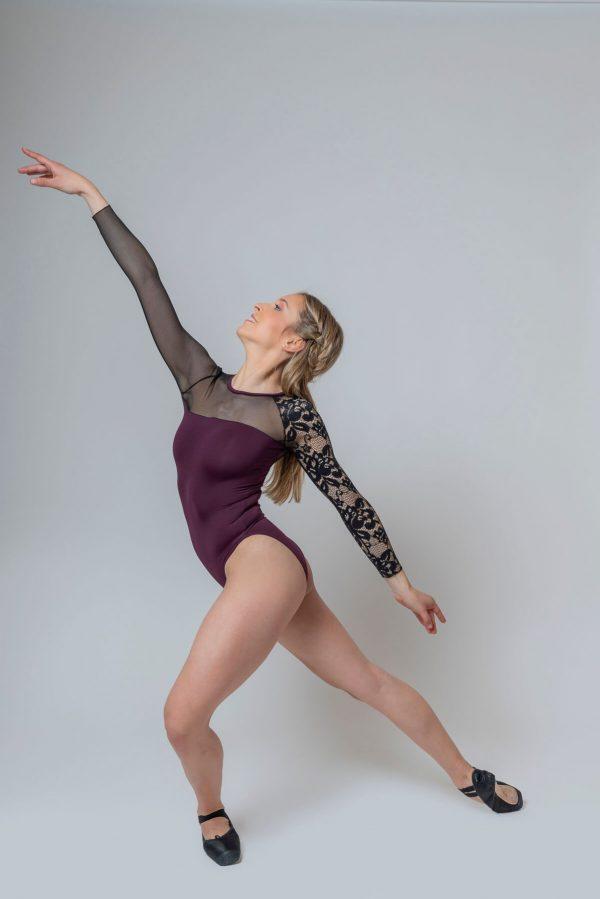 Maillot de ballet manga larga STRUBA 4328