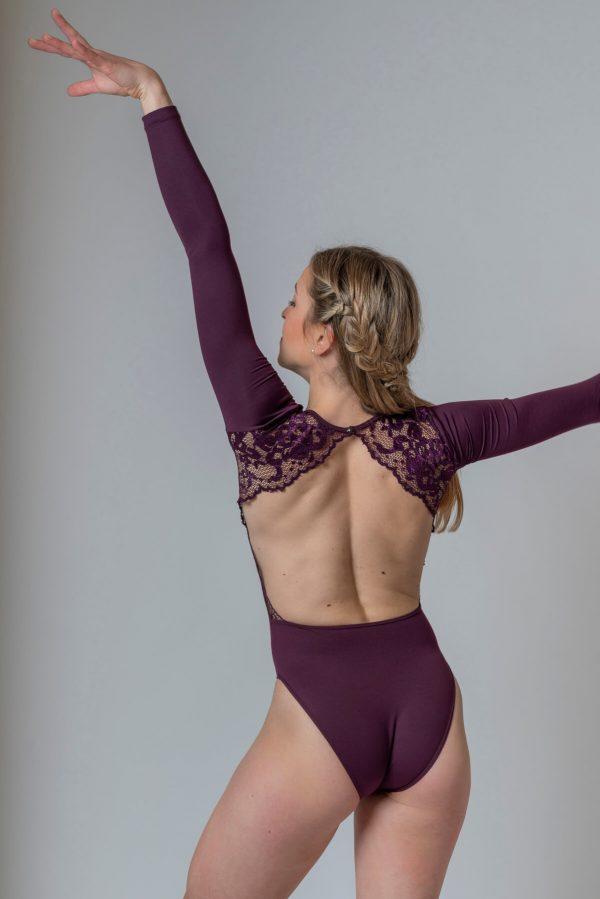 Maillot ballet adulto blonda 4329