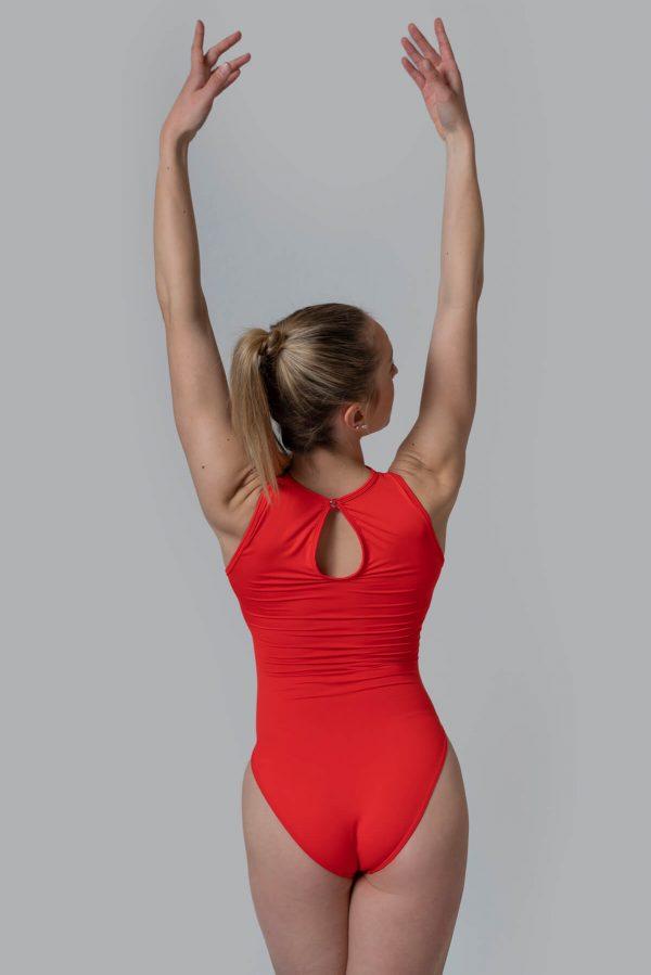 Maillot ballet rojo