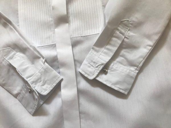 Camisa blanca para el traje regional de niño