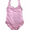 Maillot ballet rosa para niña