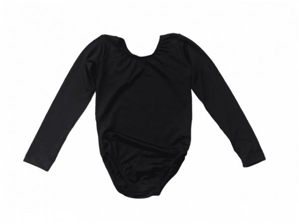 Maillot ballet negro barato