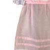 Delantal rosa para niña huertana