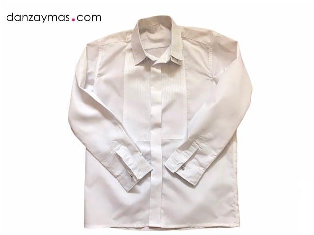Camisa blanca para el traje regional de niño 1291
