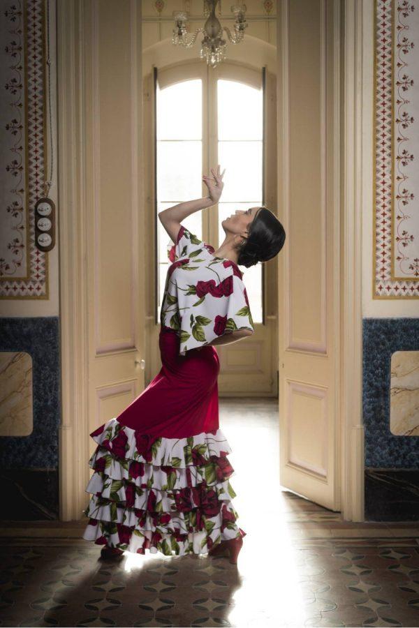 Cuerpo para baile flamenco