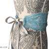 Cinturón de encaje flamenco
