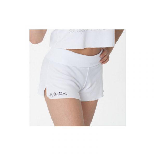 Pantalón corto de danza algodón