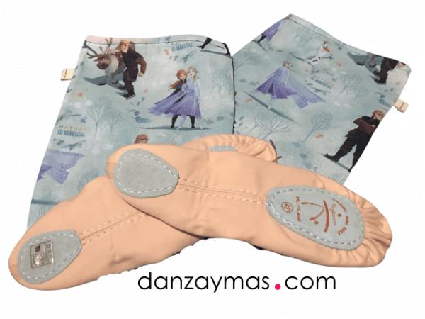 Funda para zapatillas de ballet Frozzen