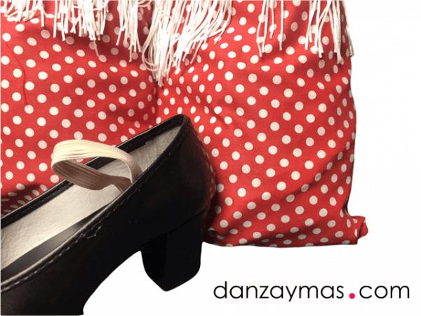 Bolsa para tus zapatos de flamenca