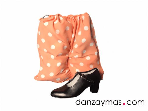 Bolsa zapatos flamenca